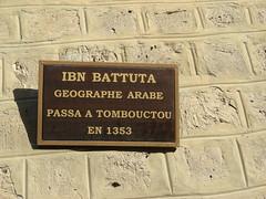 Mali. Tombuctu. Recuerdo de Ibn Batouta