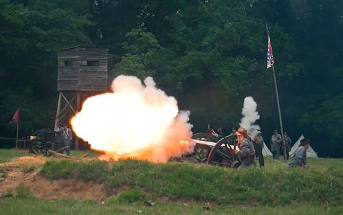 Cannon Fire!
