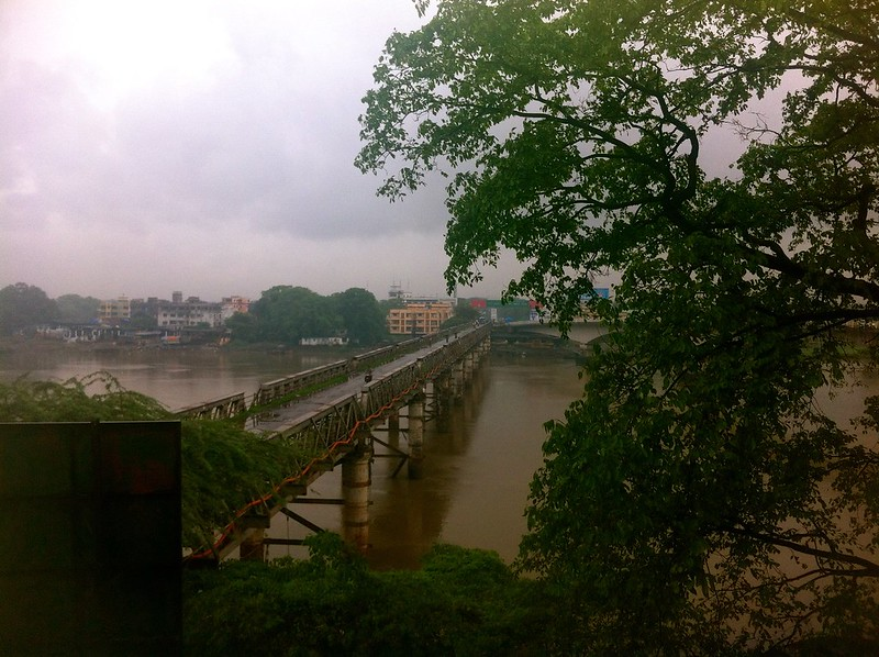 Durgadi Fort - View of old bridge