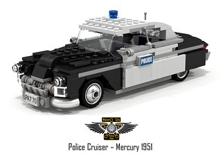 MotorCity Police Department - 1951 Mercury Eight