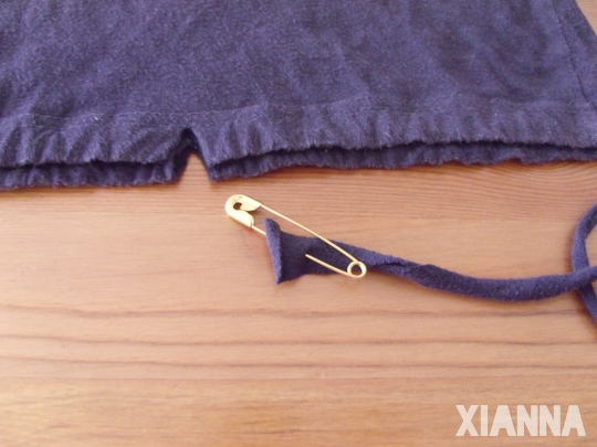Sleeve trim / Corte mange