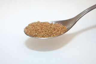 09 - Zutat Rohrzucker / Ingredient cane sugar