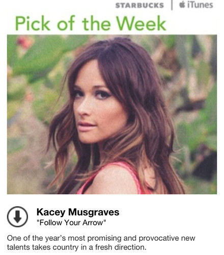 Starbucks iTunes Pick of the Week - Kacey Musgraves - Follow Your Arrow