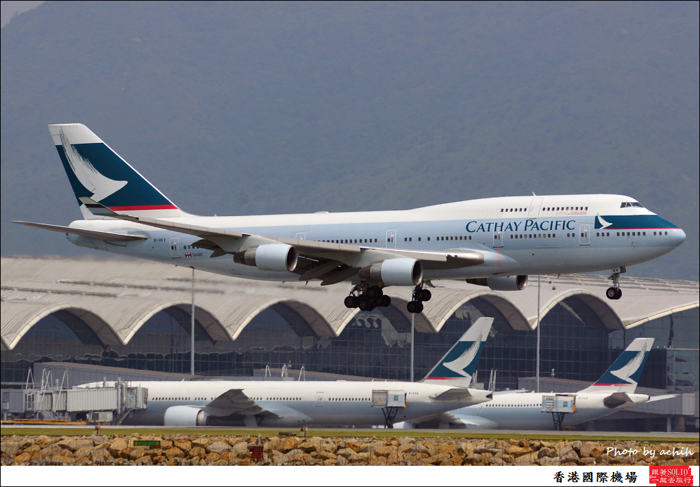 Cathay Pacific Airways B-HKV-007