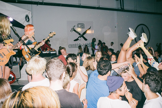 BURGER Records x Volcom Night @ VOLCOM HQ