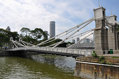 Singapore -  1870 Old Bridge