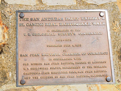San Andreas Fault Marker