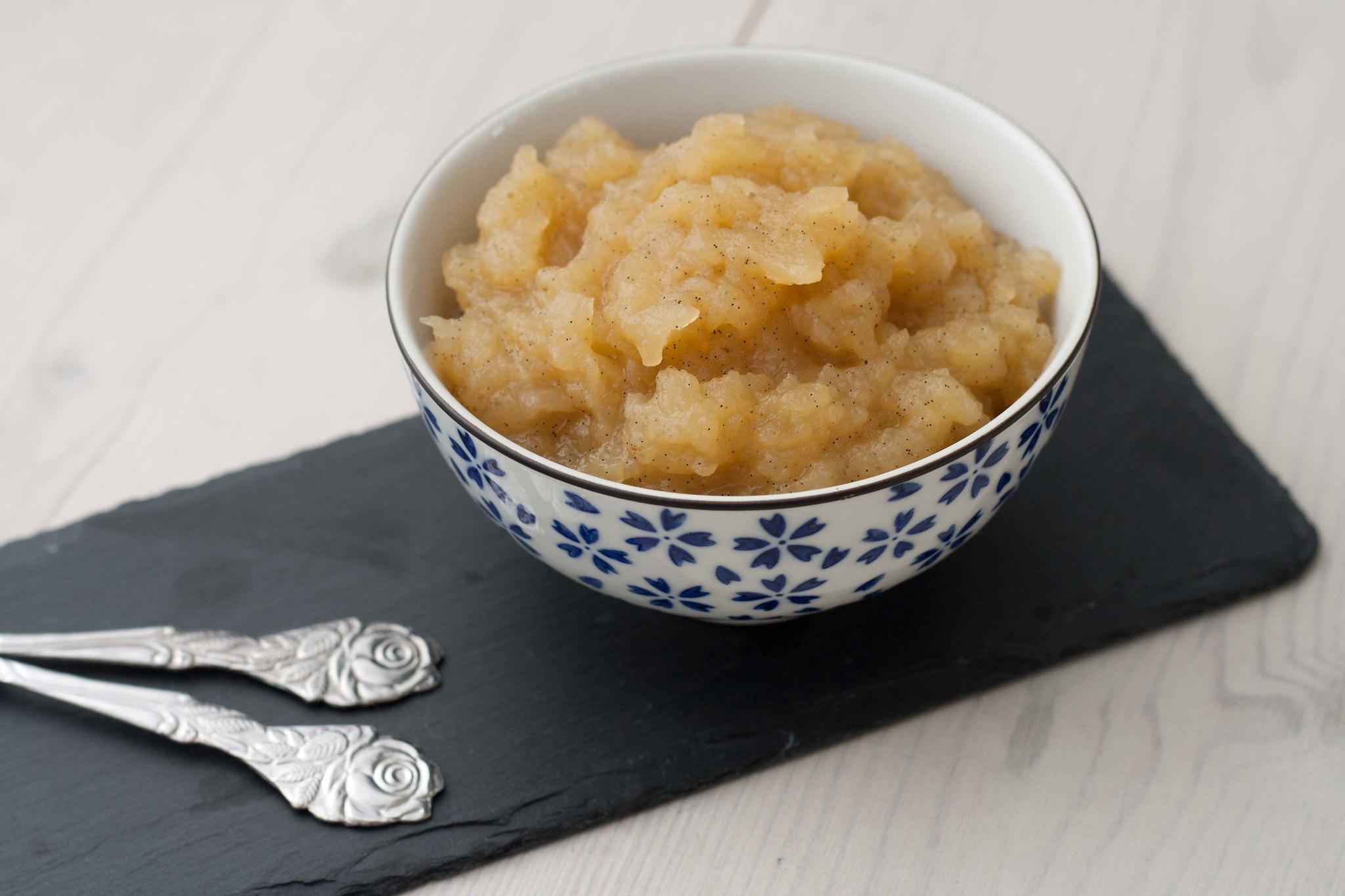 æblegrød Med Vanilje Super Nem Og Lækker Opskrift