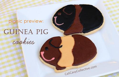 Guinea pig cookies