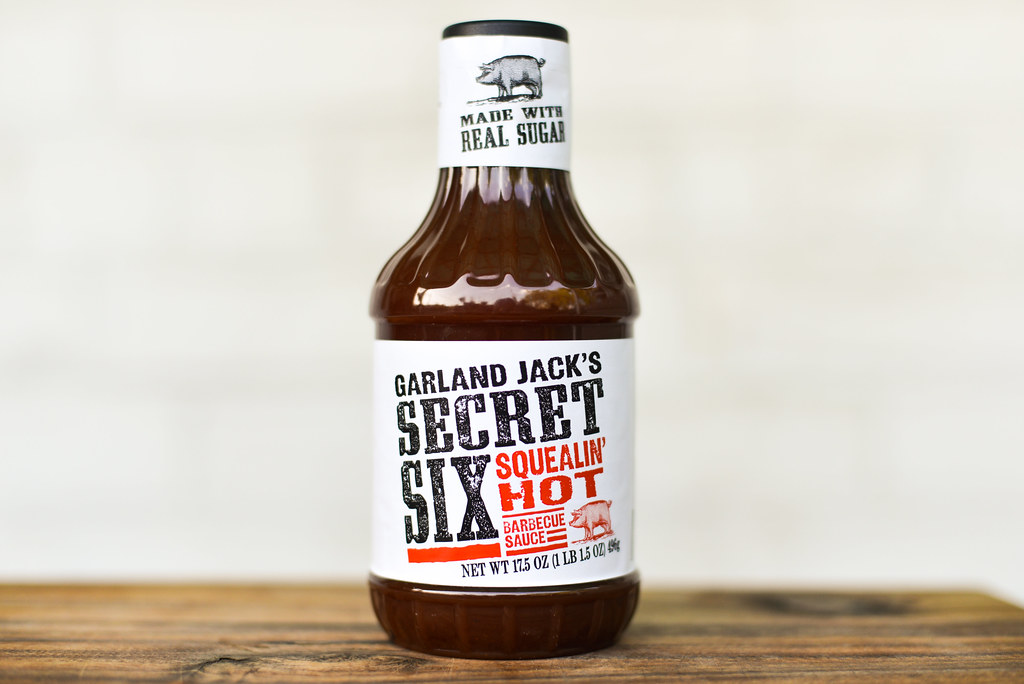 Garland Jack's Secret Six Squealin' Hot Barbecue Sauce