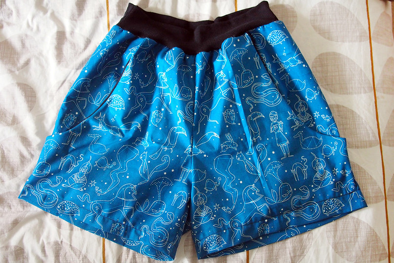 Constellation PJ shorts