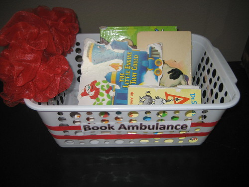 Book Ambulance (Photo from Growing Book by Book)