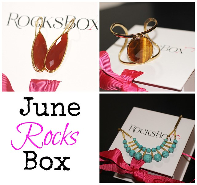 June 13 Rocks Box Collage