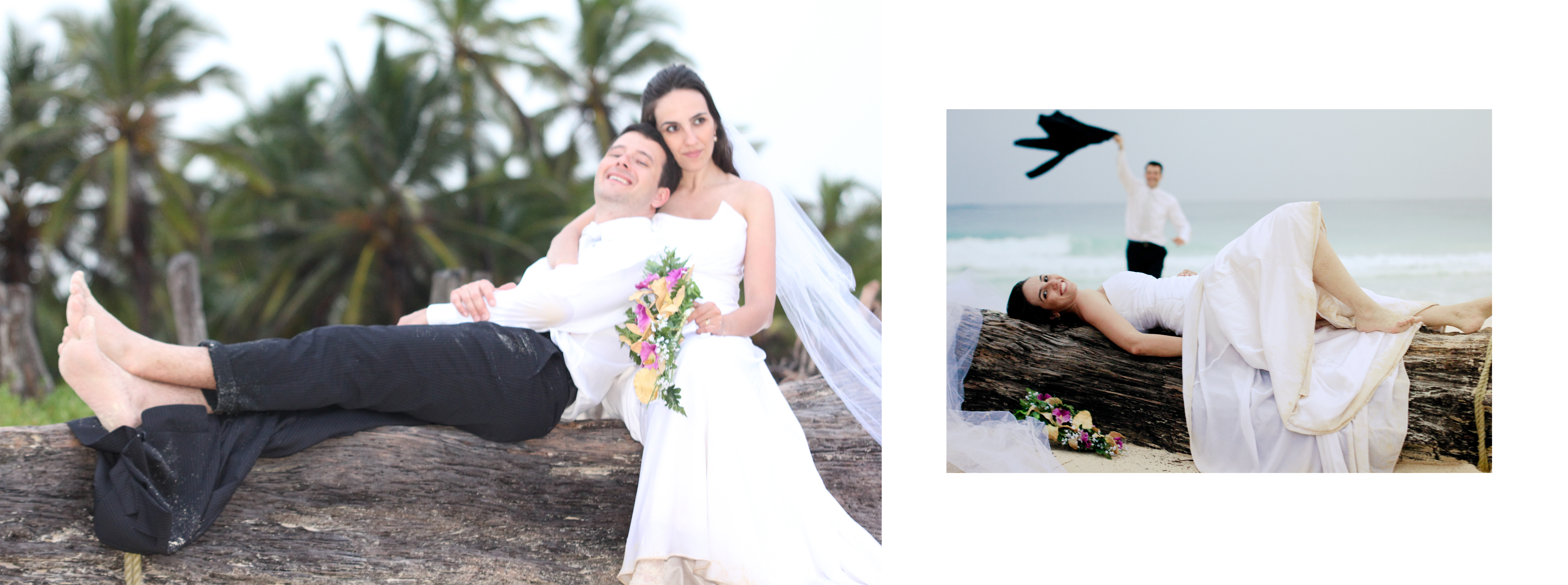 Trash the Dress no Caribe!