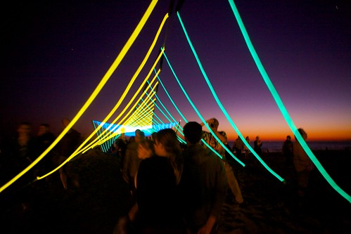 Glow Festival, Santa Monica, 2010
