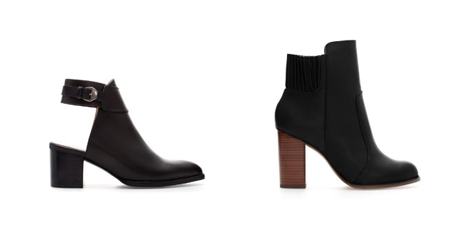 Daisybutter - UK Style and Fashion Blog: currently coveting, autumn winter boots, zara boots