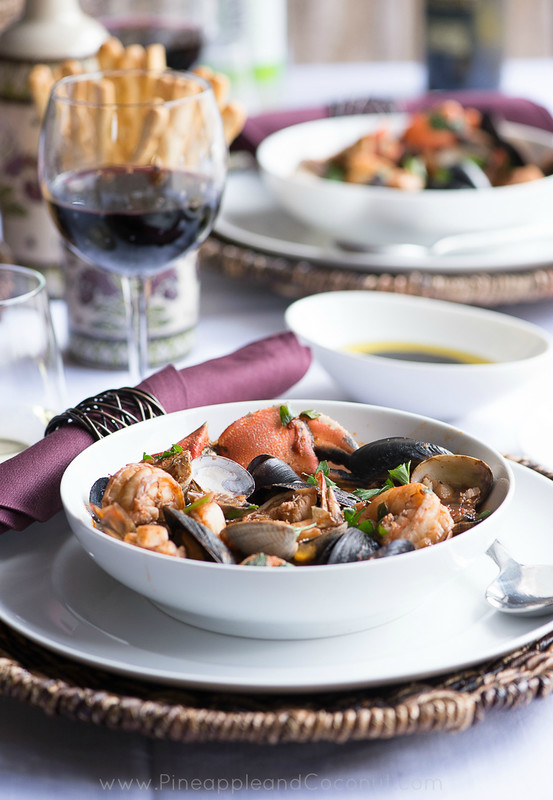 Spicy Cioppino My Way www.PineappleandCoconut.com #worldmarket #gourmetgetaway  (5)