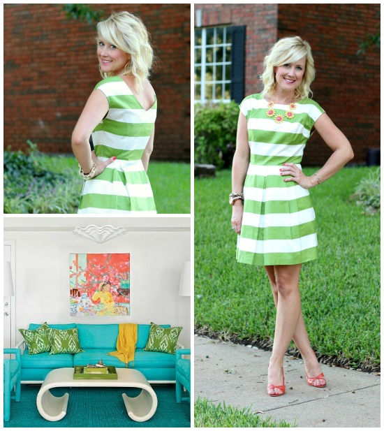 Hi Sugarplum | {Outfit Inspiration} Green & Orange