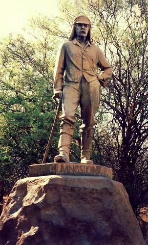 Livingstone statue, Victoria Falls