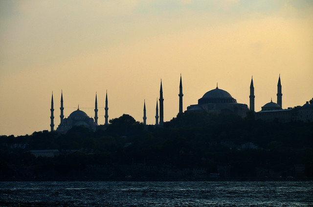Skyline Istambul Turkey