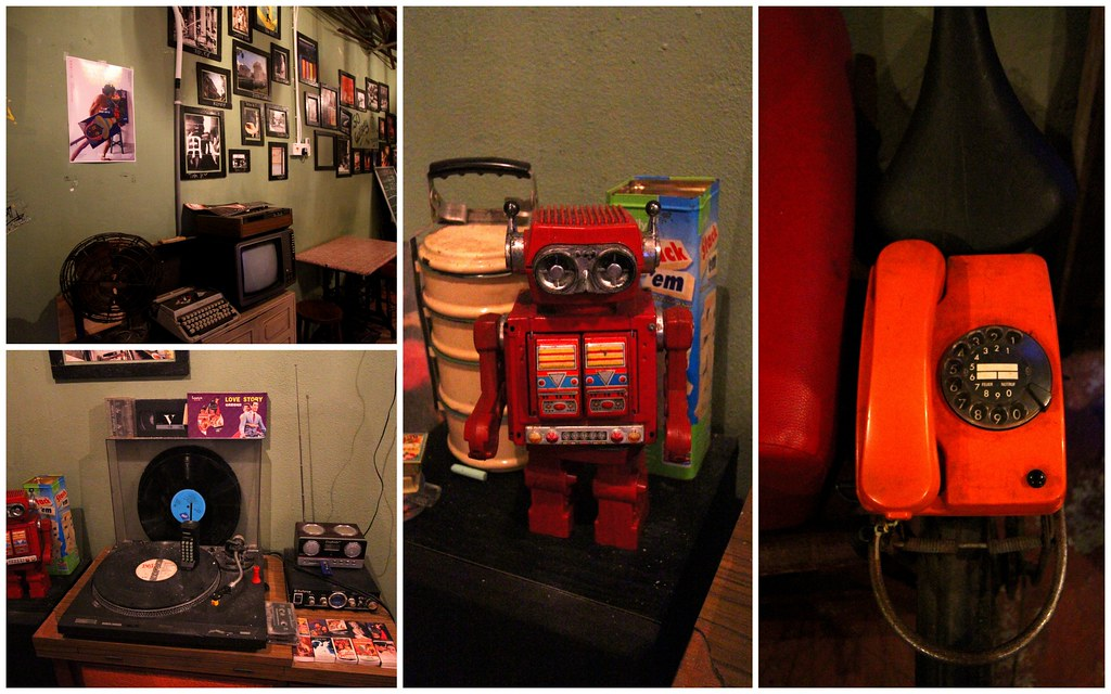 George Town Cafes: Behind 50's Vintage Displays