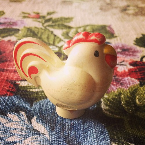 chicken figurine