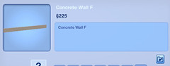 Concrete Wall F