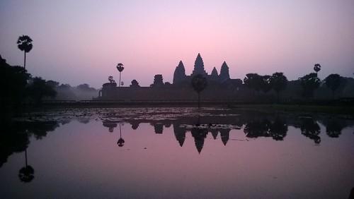 Angkor Wat at dawn,