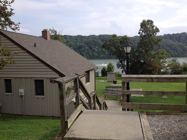 Waterfront With A Large Lawn Area 2 Bedroom Cabin 9 At Claytor Lake State  Park