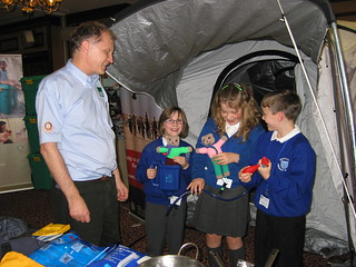 Shelterbox at Rotary in Action event - Rotary Club of Holderness