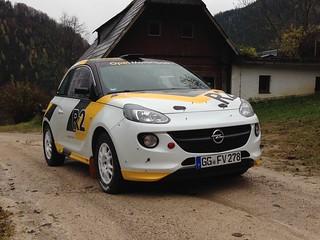 Opel ADAM Rallye Cup R2