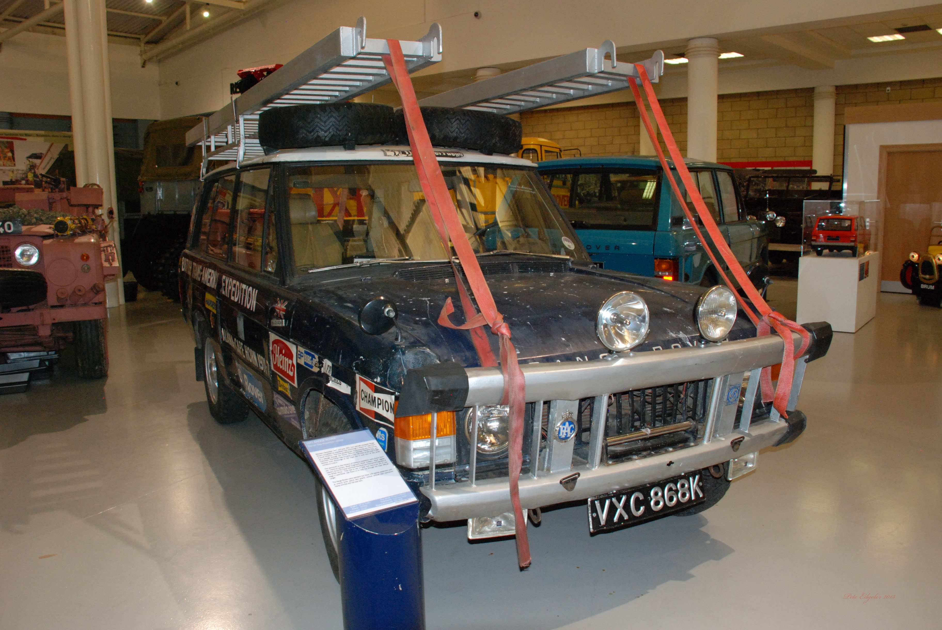vxc868k 1971 range rover darien gap expedition vehicle flickr photo sharing. Black Bedroom Furniture Sets. Home Design Ideas