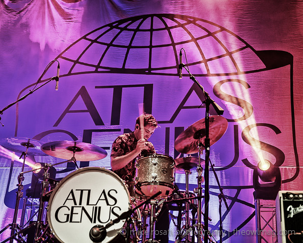 Atlas Genius @ The Fillmore, SF 11/7/13