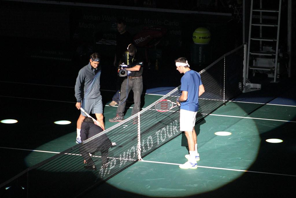 Roger Federer and Juan Martin Del Potro