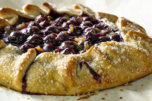 Blueberry Crostada