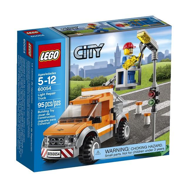 LEGO City 60054 - Light Repair Truck