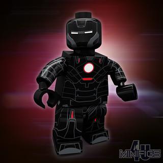 Iron Man Mark 16 Nightclub Iron Man Mark 16 Nightclub