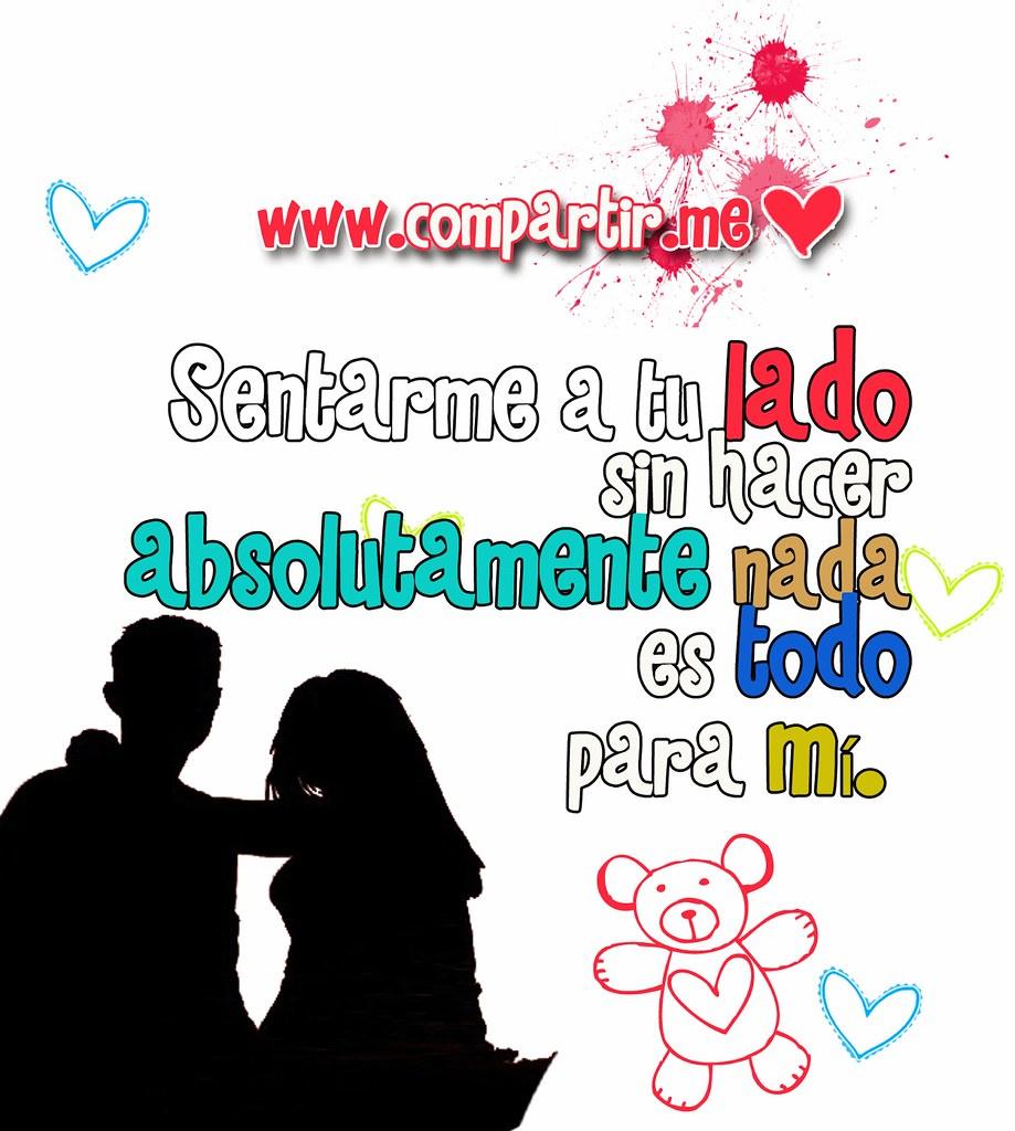 Frases De Amor Pareja De Enamorados Y Frase De Sentarme A Flickr