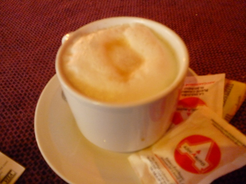 Latte in Colonia del Sacramento