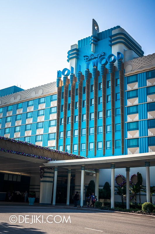 Disney's Hollywood Hotel - Exteriors and Entrance