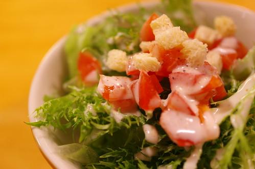 Salad @TIN'z BURGER MARKET 13 PENTAX K-3