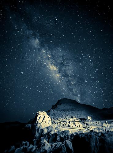 longexposure sky cold night skyscape stars landscape hawaii nikon nightscape space maui galaxy haleakala manual split nikkor toned f28 lightroom milkyway reallyrightstuff splittoned bh55 2013 d700 1424mmf28g Astrometrydotnet:status=solved dfine2 jasoncarpenter kīpahulu tvc33 Astrometrydotnet:id=nova152591