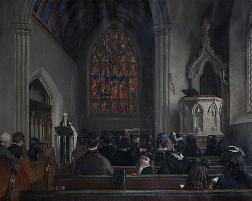 Patrick Allan-Fraser , St Mary's Church, Arbroath , after 1854 and before 1878.