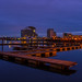 Cardiff bay at Dusk by Laurie Parker