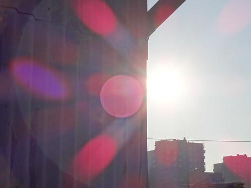 Sony QX10 - praca pod światło