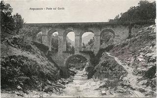 Ascoli com'era: Acquasanta Terme, ponte sul torrente Garafo (<1920)