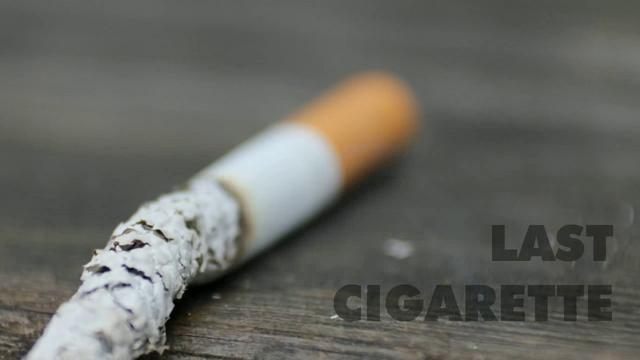 This is a picture of the last cigarette you'll ever smoke thanks to 14 & Out - the Natural Method to Stop Smoking in 14 Days!