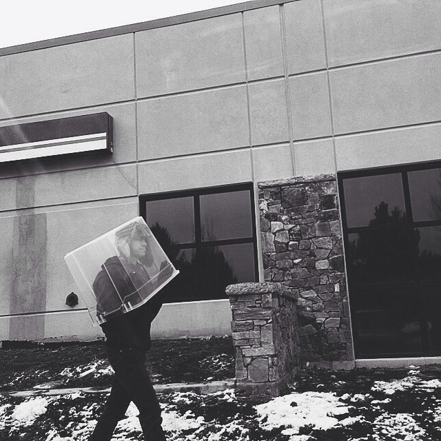 Because this is the only proper way to leave the post office this time of year... #momentsintime #holidazzle #homemeansnevada #thinkreno #thisisreno #biggestlittlecity #stranger #ourcollectivetogether #mortalmuses