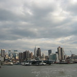 NYC Skyline from the ship