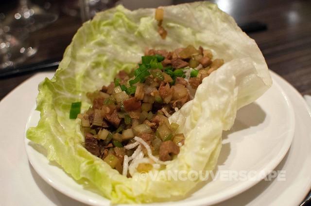 Kaya Malay BBQ Duck salad, Cantonese Dressing